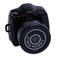Mini Black Camera HD Camcorder Recorder Video DVR DV Spy Hidden Pinhole Web cam