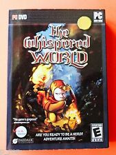 The Whispered World - NEW Sealed DVD Software