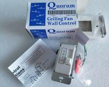 Quorum Lighting 7-1190-6 Fan Remote Control Accessory Wall Mount White Finish