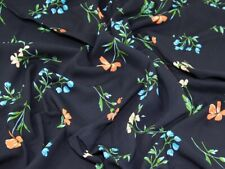 Viscose Challis Fabric - Sold Per Metre