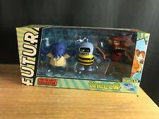 Toynami Tineez Futurama Series 1.2 Mini Figure Set BENDER,ZOIDBERG,ROBOT DEVIL