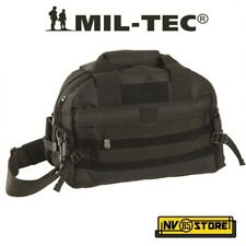 BORSA TRACOLLA TATTICA MILTEC AMMO SHOULDER TACTICAL BAG SOFTAIR SURVIVOR BLACK