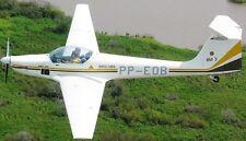 AMT-200 Super Ximango Aeromot Brazil Motor Glider Mahogany Wood Model Small