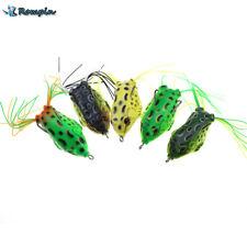 5pcs 12g 5.5cm Kopper Live Target Frog Lure Snakehead Lure Topwater Simulation