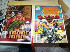 6 invincible iron man 252,253,254,255 4 x-mas variant Marvel Action Hour 1