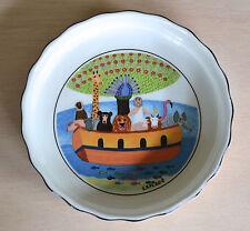"RARE Mini Petit VILLEROY & BOCH NOAH'S ARK Animal Pie Tart Quiche Dish 4 1/2"""