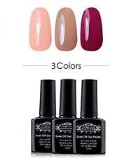 Perfect Summer Soak Off UV LED Gel Nail Polish, Pastel Colors Gift Set 10ml Each