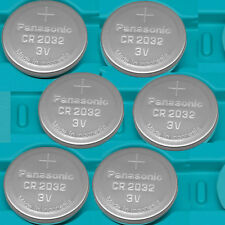 6 NEW PANASONIC CR2032 ECR 2032 3v Lithium Batteries Exp.2026 CR 2032