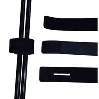 Elastic Fishing Rod Ties Fastening Strap Belt Wrap Tackle PoleSE