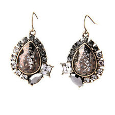 Midnight Palace Drop Earrings Brand Vintage Party-Perfect Look Antique Mirrors