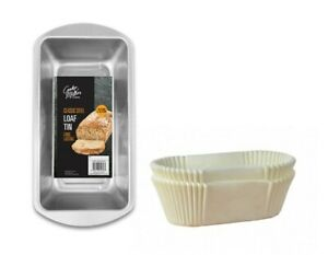 Non-Stick Grease Proof 1lb 2lb Paper Loaf Cake Tins / Liners (Pack 1/20/40/100)