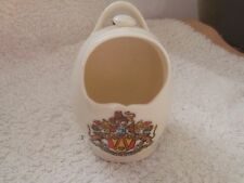 VINTAGE GOSS MODEL OF AN ANCIENT SALT POT  CRESTED COUNTY PALATINE OF LANCASTER