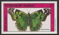 GB Locals - Eynhallow  2489 - 1982 BUTTERFLIES souvenir sheet unmounted mint
