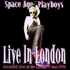 Space Age Playboys Live In London 1998 CD NEW SEALED Acid Punk