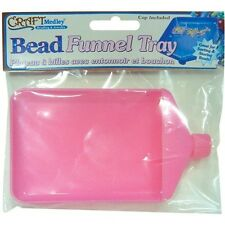 Multicraft Imports Bead Funnel Tray With Cap - 204566