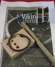Vintage Bronze VIKING KNIT Bracelet KIT & INSTRUCTIONS, Vintage Bronze WIRE #0