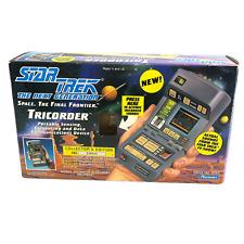 Star Trek Next Generation Tricorder Scanner 1993 Playmates Collectors Edition