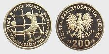 POLONIA POLAND -NI/ 200 ZLOTYCH 1985 PROBA PROOF !