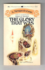 THE GLORY THAT WAS (SIGNED by L. Sprague de Camp/1st US pb/artist Richard Powers