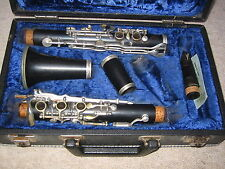 """Nice used wooden Bb Clarinet 5 rings ALBERT  System, """"Schreiber"""""""