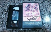 DEATH HUNT RARE VHS TAPE! 1981 Thriller Adventure! CHARLES BRONSON! Death Wish
