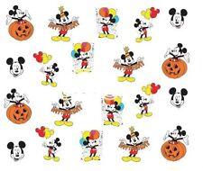 Nail Art Calcomanías Traslados Pegatinas Globos Calabaza De Mickey Mouse (A-371)