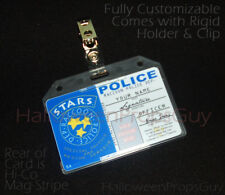 RESIDENT EVIL Style Raccoon Police Custom ID Card PVC Prop Replica Name, Photo +