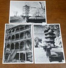 A. Aubrey Bodine Baltimore Ironwork Chinese Pagoda Black/ White Blank Cards Lot