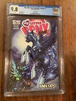 CGC 9.8 MY LITTLE PONY FRIENDSHIP IS MAGIC 1 LIMITED EDITION FAN EXPO VARIANT