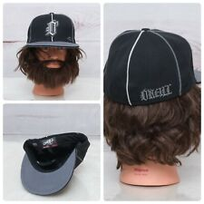 O'Neill Flat & Fitty Men's Size 7 ¼ Fitted Black & Gray Hat Cap VGC