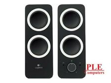Logitech z200 Multimedia Speakers - Midnight Black [980-000850]