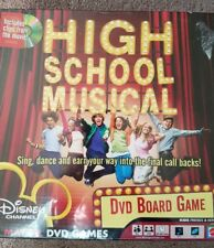 High School Musical DVD Board Game By Mattel And The Disney Channel 2006 NEW