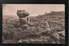 L@@K  Monkey's Face Brimham Rocks 1900's Postcard Yorkshire ~ Nice Image