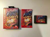 Disney's Aladdin (Sega Genesis 1993) Virgin - VINTAGE - CIB COMPLETE - US SELLER