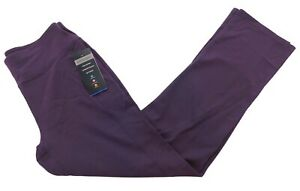 Skechers Go Walk Women's Large Pants High Waisted Purple 4 Exterior Pockets
