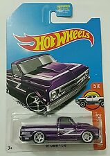 Hot Wheels 2017 Super Treasure Hunt '67 Chevy C10 Truck (Limited Card) New -01-
