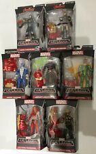 Marvel Legends AVENGERS Hulkbuster Complete Set of 7 Action Figures 2015 HTF MIP