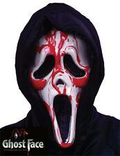 Scream Mask Bleeding - Official Halloween Blood Ghost Face Costume FunWorld