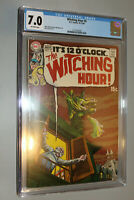Witching Hour #5 CGC 7.0 off white pages