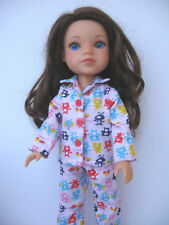 """Clothes for Hearts For Hearts Girls Dolls~H4H~14"""" Handmade Outfit Doll Pajamas"""