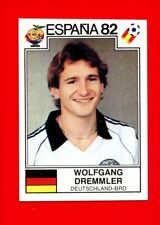 WC ESPANA '82 Panini 1982 - Figurina-Sticker n. 119 - DREMMLER -DEUTSCHLAND-New