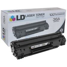 LD CB436A 36A Black Laser Toner Cartridge for HP Printer