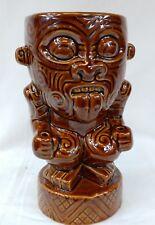 Munktiki 2015 Maori Warrior Tiki Mug Brown
