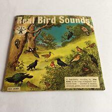 """Real Bird Sounds Dandy Book DB 101 45rpm 7"""" EP John Kirby Children's Gatefold"""
