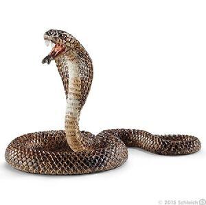 NEW SCHLEICH 14733 Cobra Snake - Zoo Wildlife Wild Life