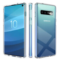 Samsung Galaxy S10 S10 Plus Transparent Schutz Hülle TPU Case Ultra Slim Cover