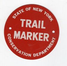 Nys Conservation Department Trail Marker - Pre-1970 - New