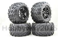 4pcs 1/8 Monster Truck Tire Set Tyre For HPI T-MAXX 3.8 REVO Traxxas E-MAXX MGT