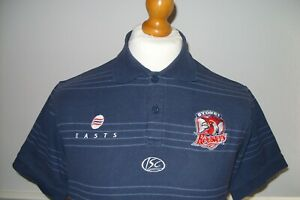 MEDIUM SYDNEY ROOSTERS OFFICIAL ISC POLO SHIRT