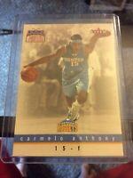 2003-04 Fleer Skybox Carmelo Anthony Rookie Card Denver Nuggets Original- Rare